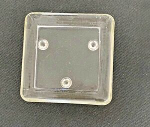 Classic Square 60mm Glass Church Candle Plate Stand Holder