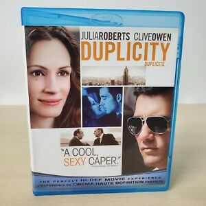 Duplicity - Blu-Ray BluRay Movie Disc With Case - Tested Working