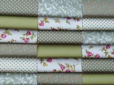 0108 Patchwork Design 100/% Cotton Poplin Fabric
