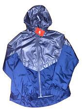 rare Nike Sportswear Windrunner 804947-404 Fog Blue Jacket NWT Womens Medium