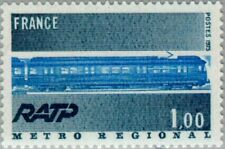 FRANCE - 1975 - RATP - The Metro Regional - MNH Commemorative Stamp - Sc.#1436