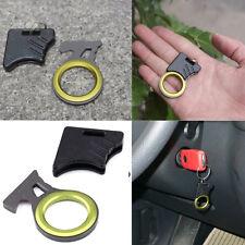 EDC Pocket Tool Emergency Cutting Seat Belt Rope Thread Hook Knife Keyring IT