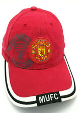 MANCHESTER UNITED FOOTBALL CLUB red adjustable cap / hat -  100% cotton