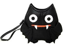 Cute Little Spooky Vampire Bat Wristlet Coin Purse Bag Gothic Punk Alternative