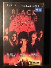 Black Circle Boys Ex-Rental Vintage Big Box VHS Tape English with dutch subs