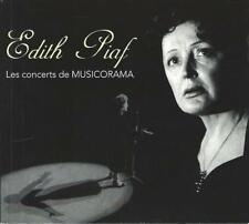 2-CD: EDITH PIAF - Les Concerts de Musicorama