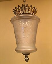 Vintage Lighting Hollywood Regency Pendant. More Available