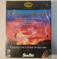 Vintage 1994 Gettysburg Battle Simulation PC Game For Windows 3.1 - RARE NEW NOS