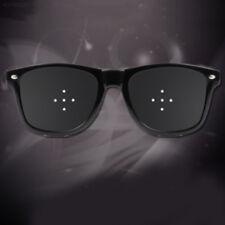 Anti Fatigue Eyesights Eye Care Pinhole Pin Hole Glasses Eyewear Eyeglasses