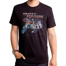 Authentic The Transformers Epic Battle Optimus Prime Vs Megatron T-shirt Small