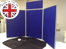 Exhibition Folding Display Stand - Large Desk Top Show Board. Fast Delivery