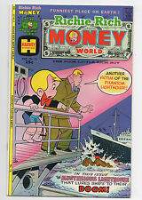 HARVEY COMICS  RICHIE RICH  MONEY WORLD  16  1975  HIGH GRADE
