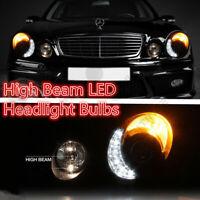 Fit 03-06 Mercedes Benz W211 E55 AMG Power LED High Beam Headlight Bulbs Pair