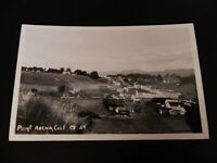 Point Arena California CA RPPC Real Photo Mendocino County Hopland North Calif