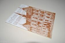 █ Harry Franz L'HOTEL DES POSTES DE STRASBOURG Alsace PTT Plaquette 15 pages █