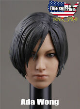 1/6 Ada Wong Head Sculpt For Resident Evil Hot Toys Phicen Kumik Figure ❶USA❶