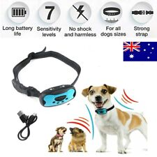 Auto Anti Bark Dog Collar Rechargeable Stop Barking Humane Non-Shock Waterproof