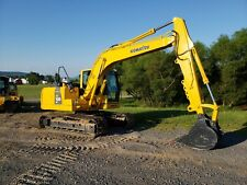 2011 Komatsu PC130-8 Excavator Diesel Track Hoe Aux Hydraulic Construction Equip