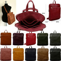 Ladies Laptop Bag 13 15.6 Inch Womens Rucksack Backpack Plain Work Bag Crossbody