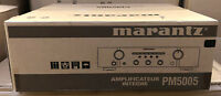 Marantz PM5005 Home Cinema Stereo Integrated Amplifier DAC Silver Brand New