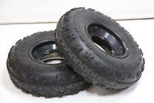 MAXXIS RAZR front tires aluminum wheels rim Yamaha Banshee YFZ450 RAPTOR K-44