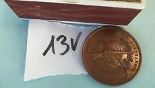 13V Ancienne médaille bronze INAUGURATION DU TIR STEPHANOIS 1/11/1866 ST ETIENNE