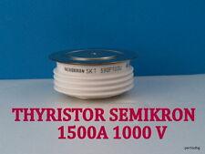FAST THYRISTOR SKT590F10DU SEMIKRON 1500A 1000V WITH AMPLIFYING GATE GOLD RARE