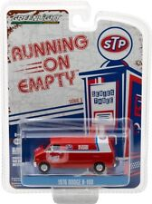 GREENLIGHT 41030 C 1976 DODGE B-100 STP DELIVERY VAN 1/64 DIECAST MODEL RED