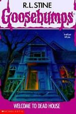 Welcome to Dead House (Goosebumps, No. 1), Stine, R. L., 0590453653, Book, Accep