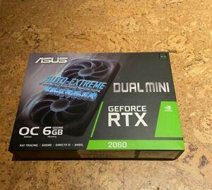 ASUS Dual GeForce RTX 2060 DirectX 12 DUAL-RTX2060-O6G-MINI 6GB 192-Bit GDDR6