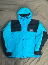 original vintage the north face 1990 mountain jacket L turquoise supreme USA