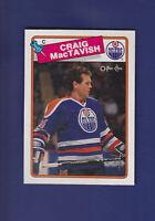 Craig MacTavish 1988-89 O-PEE-CHEE OPC Hockey #232 (MINT) Edmonton Oilers