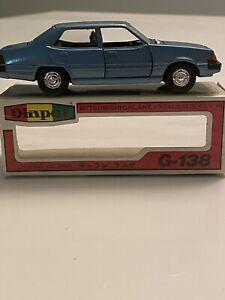 Diapet G-138 1/40 Mitsubishi Galant Blue Mint, Boxed Vintage Yonezawa Toys Rare