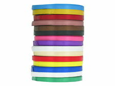 Mixed Colour Satin Ribbon Bundle 20 metres 6 mm wide Craft Christmas