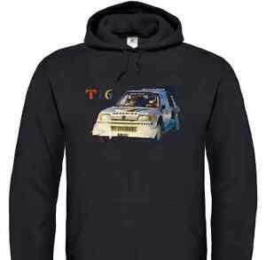 Peugeot 205 T16 Rally Car T-Shirt (Group B, Turbo, Vatanen, Kankkunen)