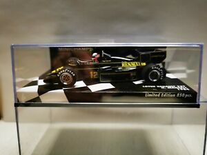 LOTUS 95T RENAULT F1 #12 SEASON 1984 N.MANSELL WITH DECALS 1/43