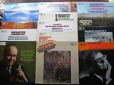 THE COMPLETE SHOSTAKOVICH SYMPHONIES  KONDRASHIN / SVETLANOV  EMI/MELODIYA  15LP