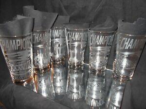 SUPERBOWL CHAMPION NEW ENGLAND PATRIOTS 2002 2004 2005 2015 2017 2019 GLASSES