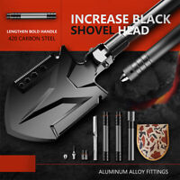 All-in-one Military Folding Shovel for Camping Survival,Scout, Hiking Fishing