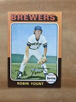 1975 TOPPS #223 ROBIN YOUNT HOF MILW BREWERS— SHARP ROOKIE💥*** (wph)