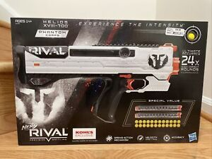 Nerf Rival Phantom Corps Helios XVIII-700 with 24 Rounds 2 Mags - NEW!!