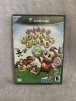 Untested Super Monkey Ball 2 (Nintendo GameCube, 2002) No Manual