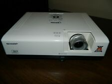 Sharp Notevision PG-D3010X DLP Projector, Working, Bad Focus.  Parts or Repair.