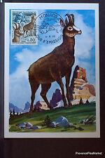 ISARD 1970 CARTE MAXIMUM MONACO Premier Jour 1° FDC  Yt 812