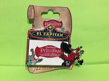 Disney El Capitan Marquee - Walt Disney's Peter Pan Hook & Tick-Tock Pin LE 300