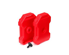 TRA8022 Traxxas Fuel Canisters Red (2)