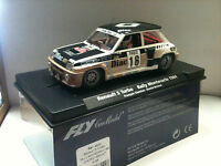 qq 88202 A-1206 FLY RENAULT 5 TURBO R MONTECARLO 84 # 16 CHATRIOT DIAC