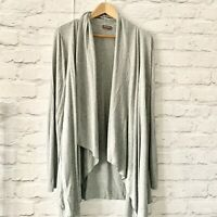 PHASE EIGHT Waterfall cardigan Size 10 Grey   | Smart Casual Warm Longline