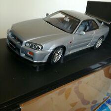 Autoart 1/18 Nissan R34 Skyline Grey