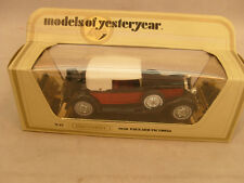 1978 MATCHBOX LESNEY MODELS OF YESTERYEAR 1:46 Y-15 1930 PACKARD VICTORIA MIB